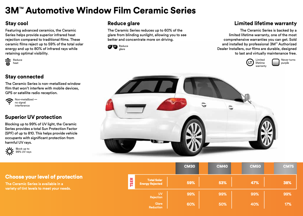 3M Ceramic Window Tint