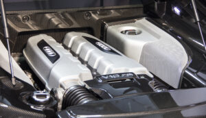 Audi F8 Engine Detailing