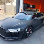 Matte Black Audi - Viny Wrap