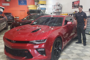 Red Camaro Ceramic Coating & Paint Protection - Fremont, CA