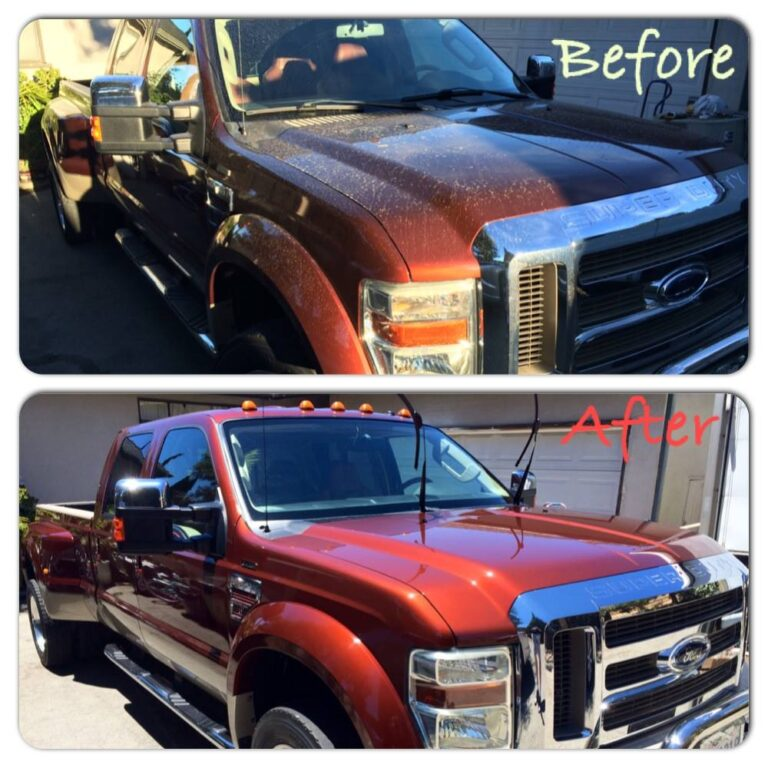 Auto Pro Detailing Exterior Detail Before & After