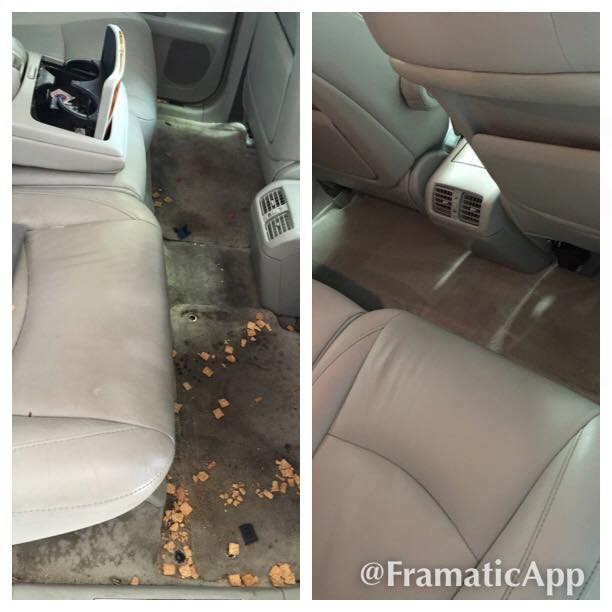 Interior Detailing Before & After