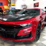 Camaro Matte Vehicle Wrap & Cermica Coating