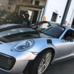 Porsche detailing, paint protection film & ceramic coating