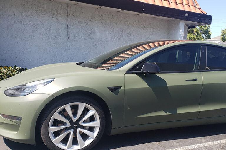 Tesla Matte Green