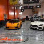 Ferrari at Auto Pro Detailing & Aegis Detailing Shop
