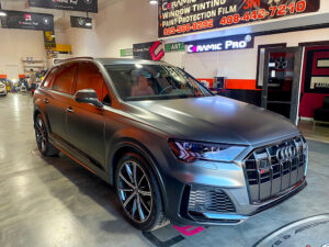 Audi Stealth Wrap Oakland
