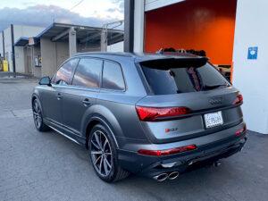 Audi Gunmetal Stealth Wrap Xpel