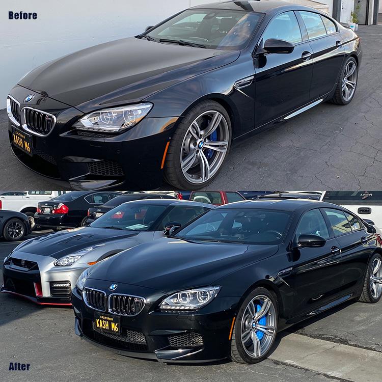 BMW Caliper Painting San Francisco
