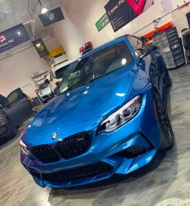 BMW Ceramic Coating & Vinyl Wrap