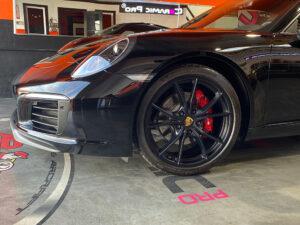 Porsche Red Caliper Painting