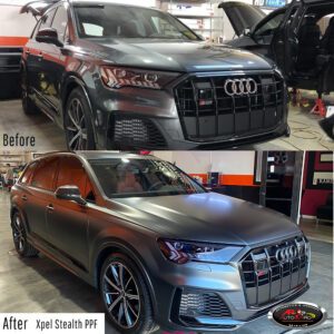 Audi Stealth Wrap Xpel Before & After