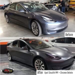 Tesla Xpel PPF Stealth - Before & After