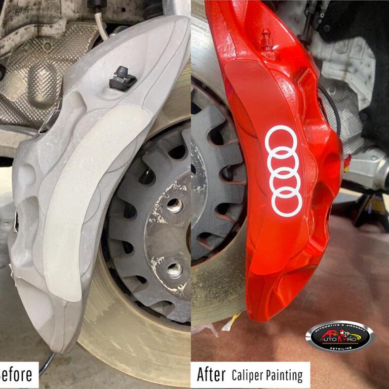 Audi Caliper Painting
