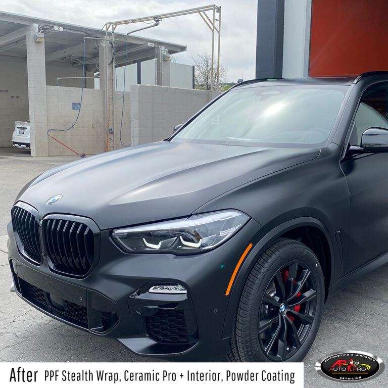 BMW SUV PPF Stealth Wrap, Ceramic Pro & Powder Coating