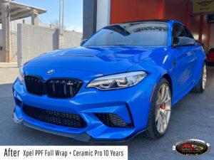 BMW Xpel PPF & Ceramic Pro Coating