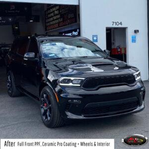 Dodge PPF, Ceramic Pro Coating, Ceramic Interior & Wheels