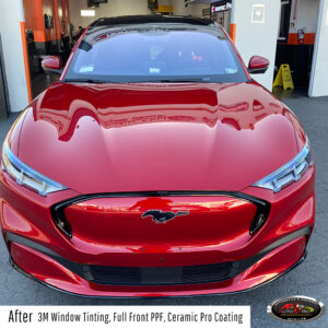 Ford MachE Mustang Window Tinting, PPF & Ceramic Pro