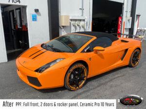 Lamborghini PPF & Ceramic Pro Coating