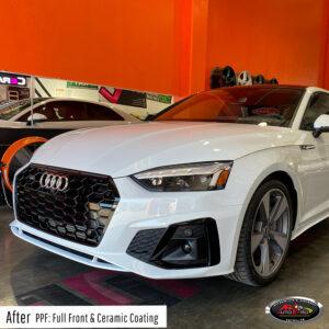 Audi Full Front PPF Wrap & Ceramic Coating - San Francisco