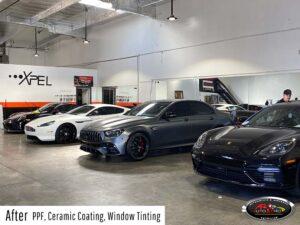 Ferrari, porsche - PPF, ceramic coating & window tint