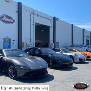 Luxury car - PPF, ceramic pro & window tint