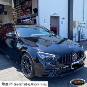 Mercedes Benz - PPF, ceramic coating & window tint