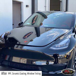 Tesla - PPF, ceramic pro coating & window tint